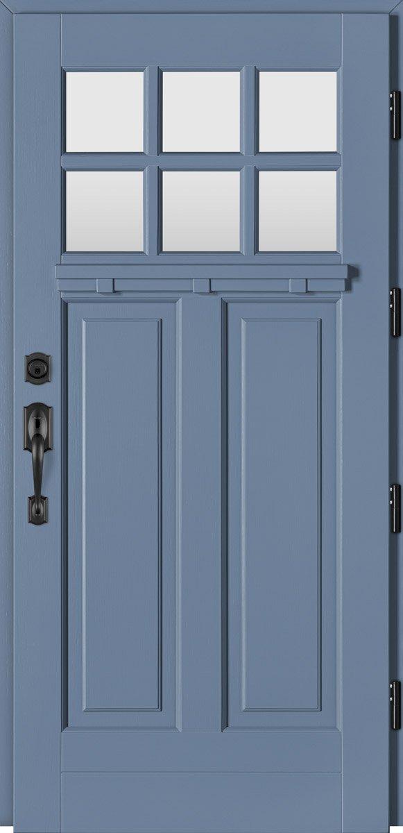 Barański drzwi zewnętrzne, drzwi drewniane