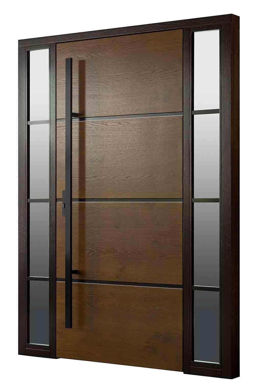 drzwi zewnętrzne bezprzylgowe DB 601