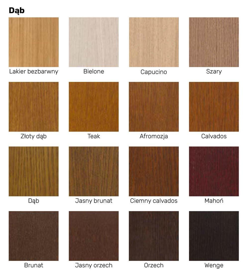 Kolorystyka drzwi wewnętrznych drewnianych