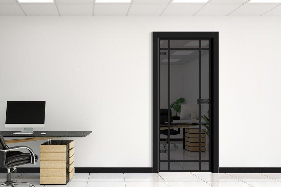 Glass 03 12 Czarny mat