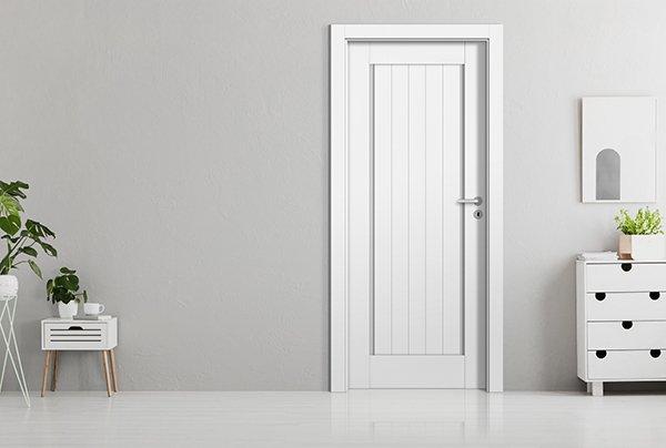 Pokój w stylizacji skandynawskiej z modelem Vertical