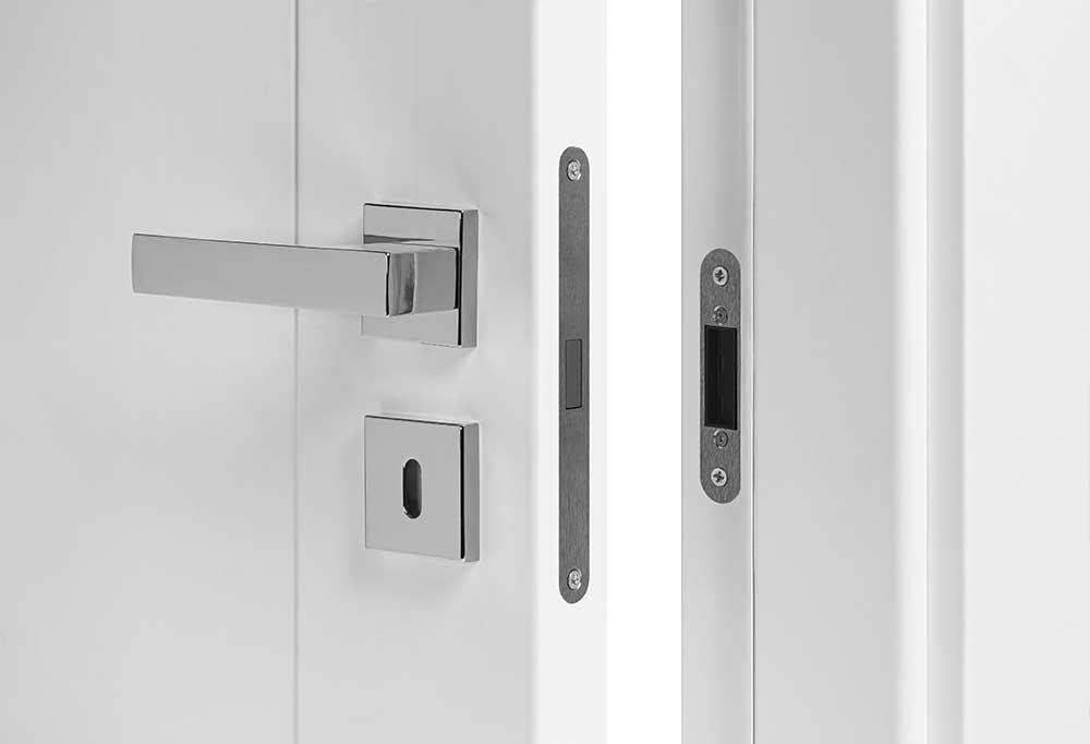 nowoczesny zamek magnetyczny do drzwi bezprzylgowych