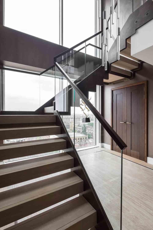 Barański Drzwi - realizacja: Apartamentowiec Mowbray House - London - Kensington Row