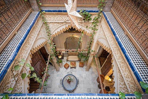 Oryginalny marokański Riad