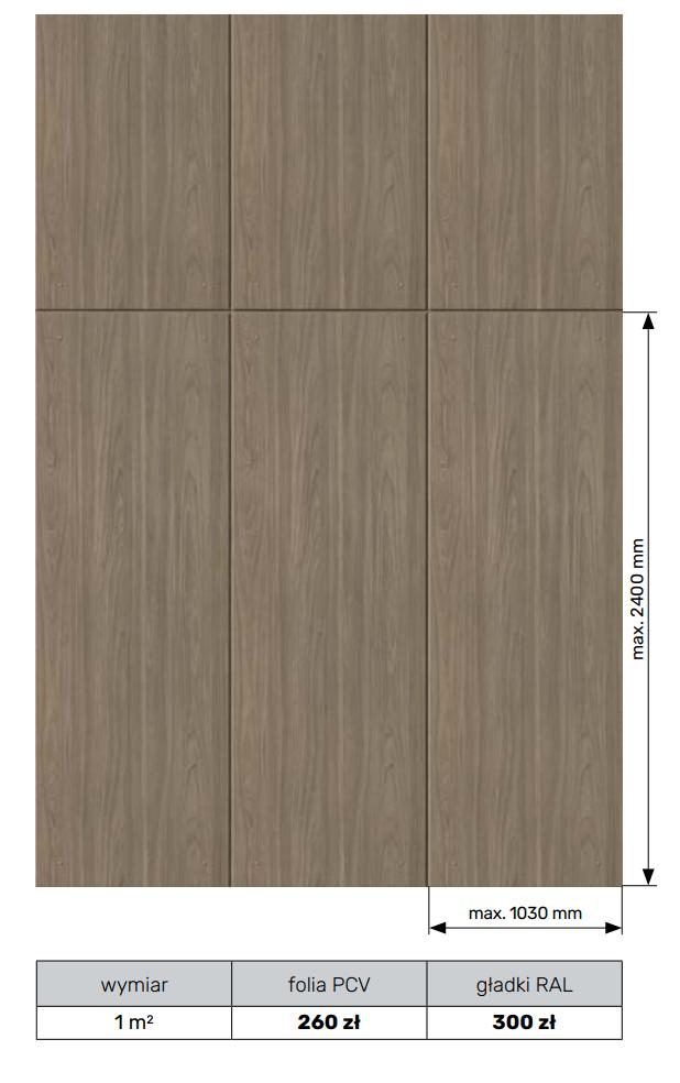 Panel naścienny - element dekoracyjny
