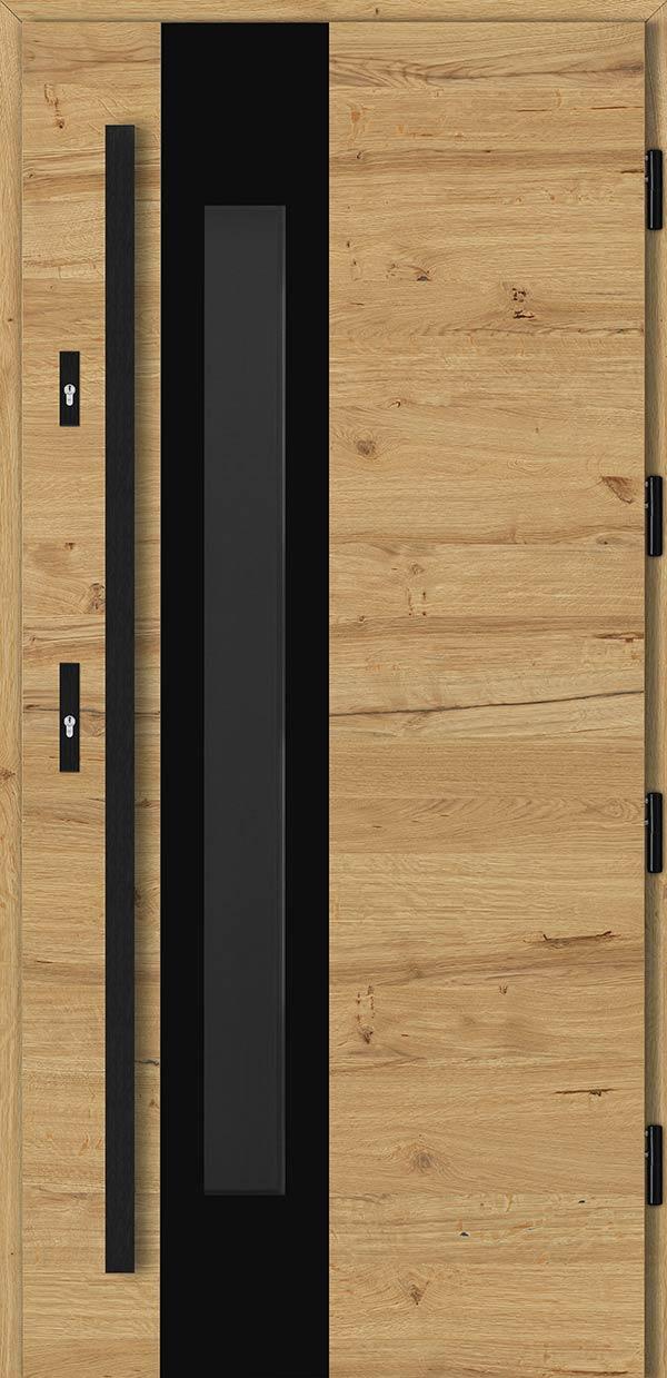 Drzwi Barański w stylu rustykalnym – przedstawienie detali